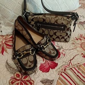 Coach Scarlet Signature Loafer